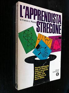 RIGNEY - L'APPRENDISTA STREGONE , 1a Ed Oscar (1968) giochi prestigio abilità