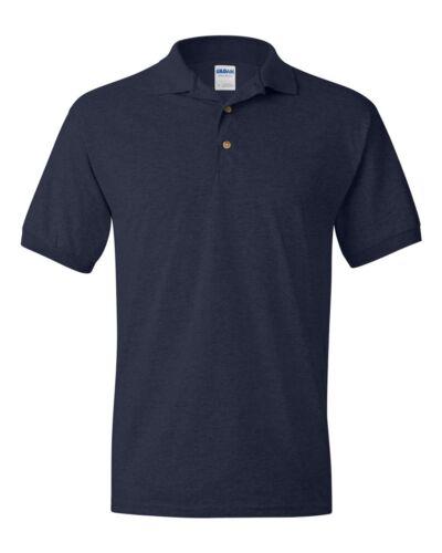 Gildan Dryblend Homme Polo Sport Chemise Classic Fit Jersey T-Shirt S-5XL 8800 Pi