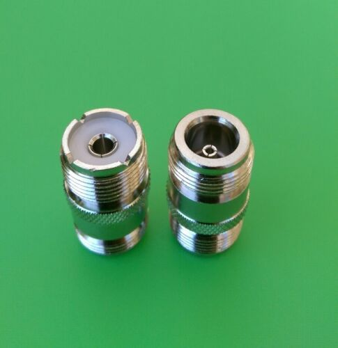 USA Seller 5 PCS N Female to UHF Female Connector