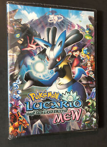 Pokemon The Movie 8 Lucario And The Mystery Of Mew Dvd New