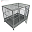 thumbnail 4 - 42-034-Heavy-Duty-Dog-Cage-Crate-Kennel-Metal-Pet-Playpen-Portable-with-Tray-Sliver