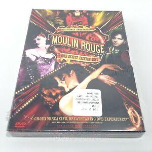 MOULIN ROUGE DVD 2 Disc Nicole Kidman Ewan Mcgregor NEW SEALED Special Features!