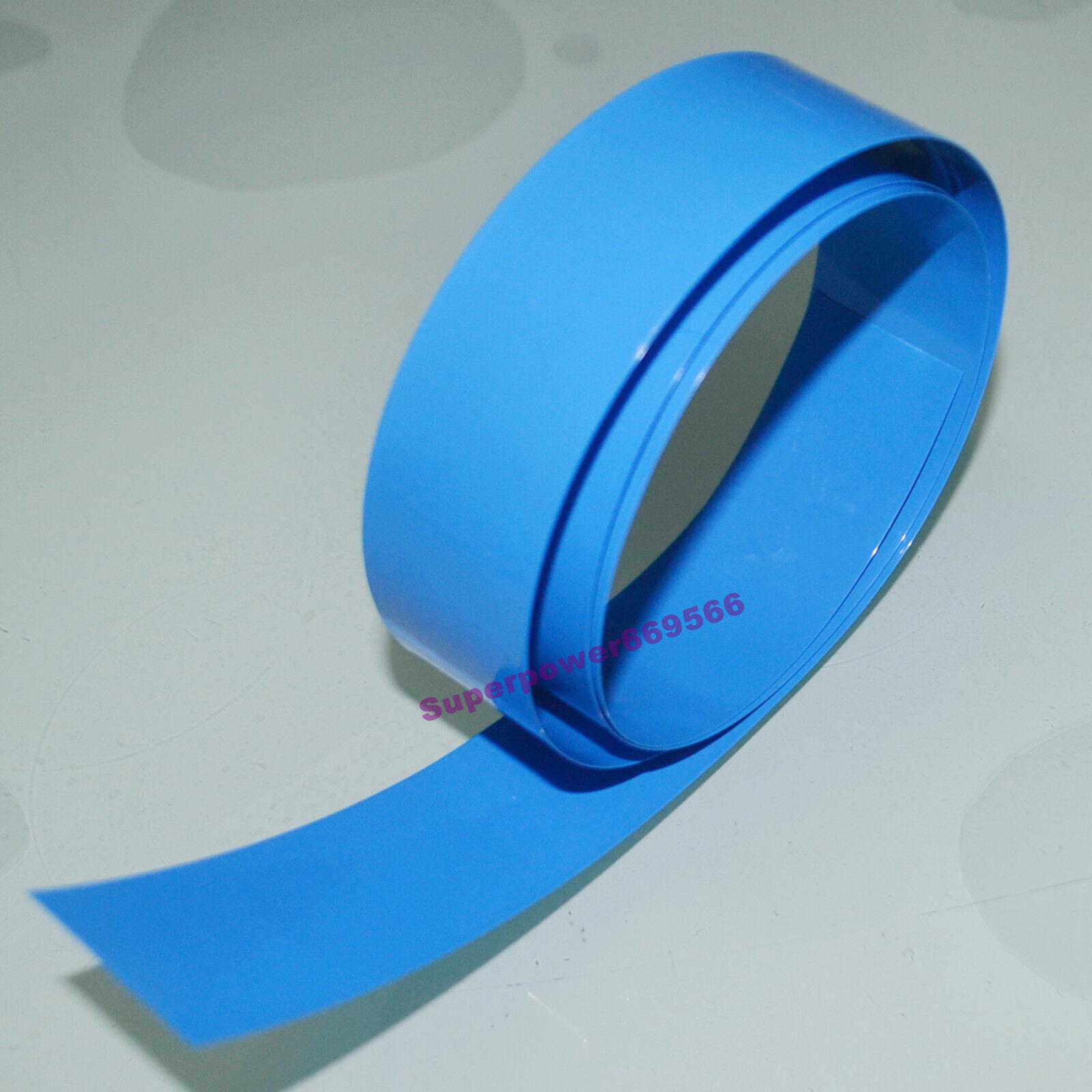 30mm Φ18.5MM 18650 18500 PVC heat shrink tube 1M/roll