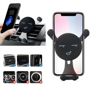360-Car-Air-Vent-Mount-For-Smart-Cell-Phone-GPS-Emoji-Cradle-Holder-Stand-1PC