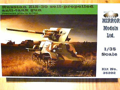 Mirror Models 1:35 ZiS-30 Russian Self-Propelled Anti-Tank Gun Model Kit