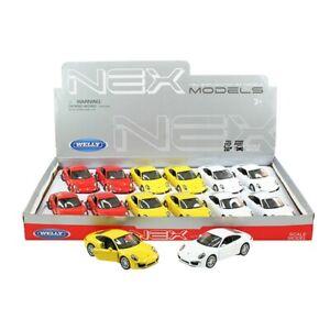 Voiture-miniature-PORSCHE-911-CARRERA-S-Aleatoire-Couleur-Auto-1-34-39-LGPL