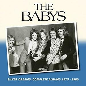 The-Babys-Silver-Dreams-Complete-Albums-1975-1980-UK-IMPORT-CD-NEW