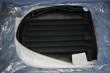 Mercedes W107 R107 SL SLC - Sitzbezug unten Leder MB-Tex 9007 schwarz - NOS