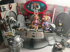 Palisades THE MUPPETS Pigs in Space Playset Miss Piggy Julius Strangepork