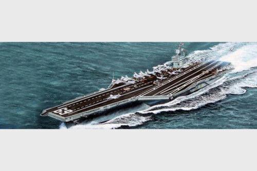 Trumpeter 05753 Aircraft Carrier USS Dwight D.Eisenhower CVN-69 Model Boat 1 700