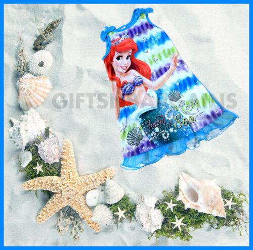 Disney Princess Ariel The Little Mermaid Polycotton Top Nightdress Sleep S:4-5 Y