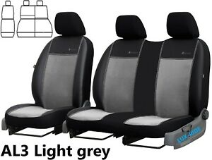 FORD-TRANSIT-CONNECT-VAN-2014-2020-ECO-LEATHER-amp-ALICANTE-TAILORED-SEAT-COVERS
