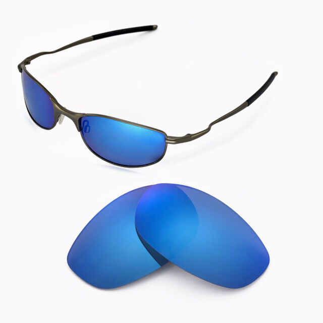 196614b0b9 Walleva Polarized Ice Blue Replacement Lenses For Oakley Tightrope  Sunglasses