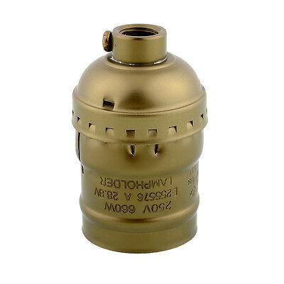 Hot New Edison E26/E27 Bulb Aluminum Shell Base Lamp Holder No Switch 250V 4A