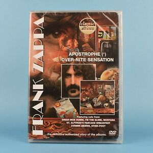 Frank-Zappa-Apostrophe-039-Over-nite-Sensation-Classic-Albums-DVD-GUARANTEED