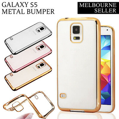 S5 Ultra Slim Clear Soft Gel Case Cover for Samsung Galaxy