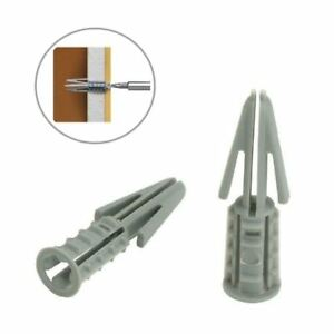 60-x-Plasterboard-Cavity-Wall-Raw-Plugs-Heavy-Duty-Rawl-Screw-Fixings