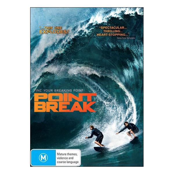 Point Break (2016)  DVD Brand New Aus Region 4 - Luke Bracey, Édgar Ramírez