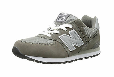 new concept 6bed2 2fba9 New Balance Shoes 574 Kids/Youth Running Sneakers KL574GSG - Gray/White |  eBay