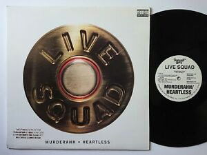 Details about Live Squad - Murderahh / Heartless **OG**PROMO**1992** 12