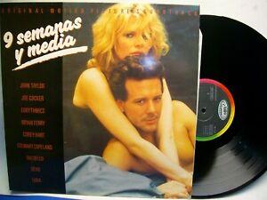 9 Semanas Y Media Banda Sonora Original Disco Lp Ebay