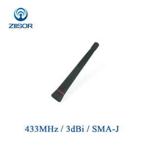 2pcs-433MHz-Mini-Rubber-Antenna-Aerial-SMA-J-Male-Vehicle-Radio-Module-Signal