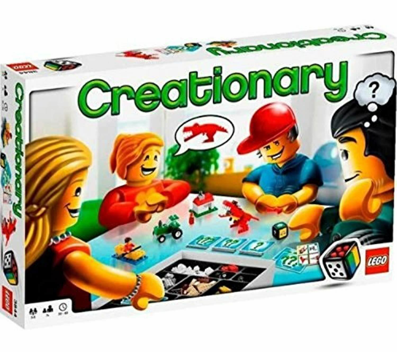 LEGO spel 3844  Skapa