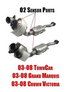 8a00fa6be6 Image is loading Front-Catalytic-Converters-Crown-Victoria-Town-Car-Grand-