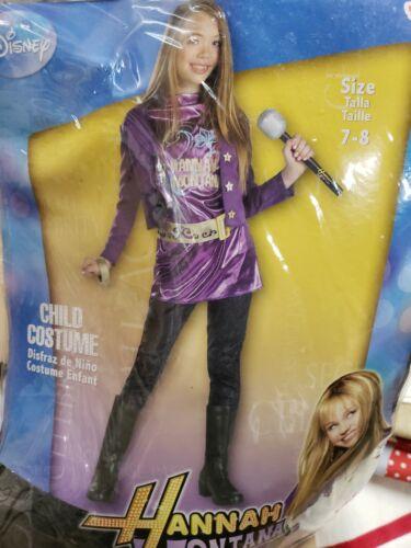Hannah Montana Child 7-8 Costume Halloween Dress up