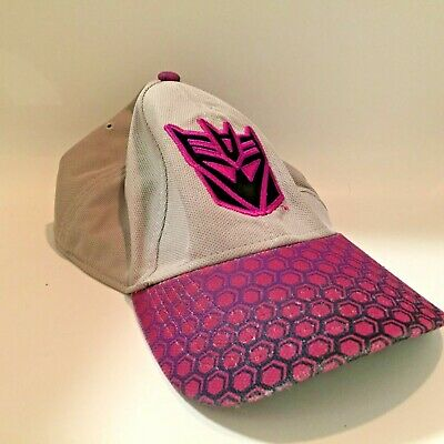 YOUTH BOY/'S GIRL/'S BLACK PINK PURPLE DECEPTICONS SNAPBACK HAT CAP TRANSFORMERS