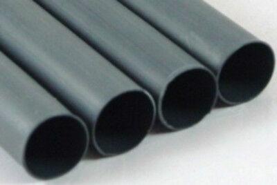"1/4"" Adhesive Lined Heat Shrink Tubing Black Perma-Fit Dual Wall PER Foot MOLEX"