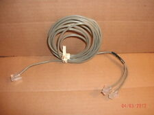 "NEW TELEPHONE SPLITTER PATCH CORD, CABLE: 4 WIRE(2-LINE) TO (2)RJ11 (1-LINE)""Y"""