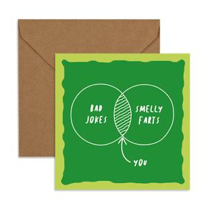 Funny Anniversary Greeting Card Rude Love Joke Present Gift