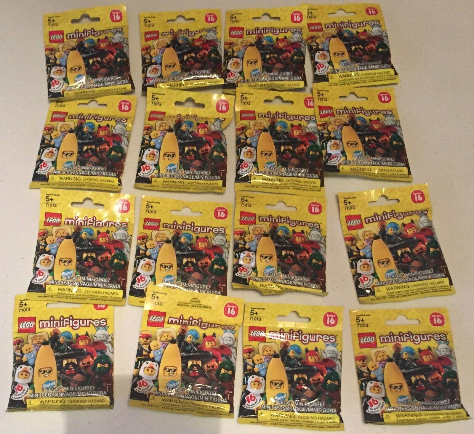 Lego COLECCIONABLE MINIFIGURAS SERIE 71013 16 conjunto completo sin abrir