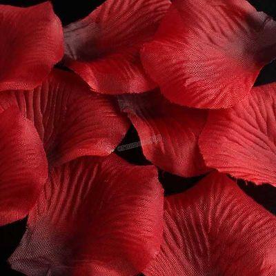 1000pcs Wholesale Red Rose Wedding Party Flower Confetti Decoration Findings JJ