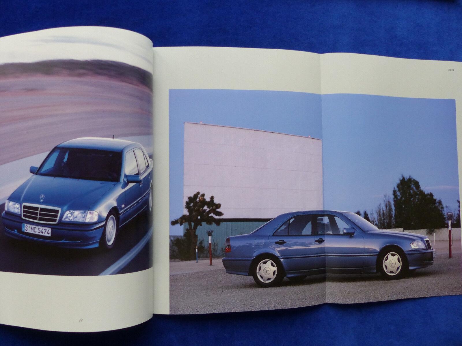 Mercedes-Benz C-Klasse Limousinen C 43 AMG MJ 2000 Prospekt Brochure 11.1999