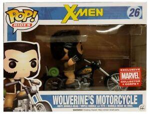 Funko Pop! La moto de Wolverine # mcc014