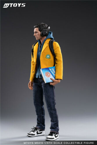 MTOYS 1//6 MS010 Spiderman Tom Holland Homecoming Scool Uniform Male Toy Presale