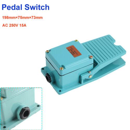 250V 15A SPDT Momentanée antidérapant Pied Pédale interrupteur