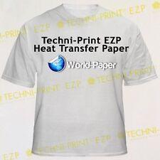 "Techni-Print EZP Laser Heat Transfer Paper 8.5"" x 11"" 25 Sheets :)"