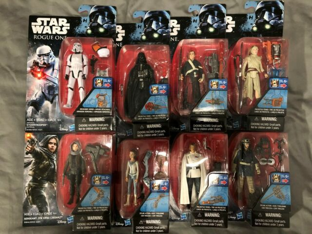 New Choose Character Hasbro Star Wars Rogue One Action Figures