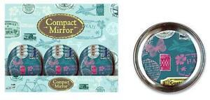 Compact-Pocket-Mirror-Hand-Bag-Retro-Stamp-Design-Magnified-Make-up-Lipstick