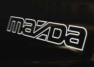 MAZDA OUTLINE Car Decal Sticker Mazda2 Mazda3 MPS Mazda5 Mazda6 Mazdaspeed