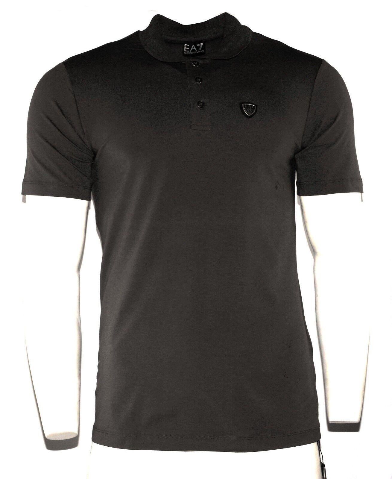 Armani Jeans Kurzärmlig Herren Polohemd - Grau Größe S M L XL XXL  | Good Design
