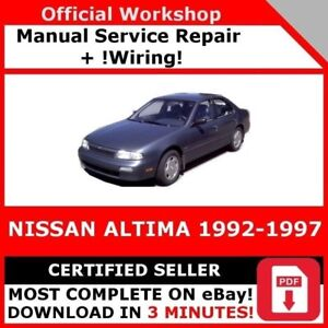 nissan altima 1997 manual pdf