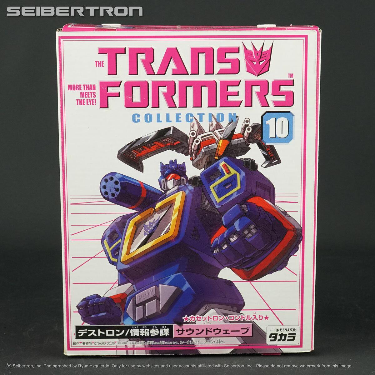 el mas de moda Soundwave Laserbeak Colección De De De Transformers 10 Completa + G1 Takara 2003 BKY  precioso