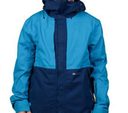 Blue 686 Glacier Vector Snowboard Jacket L