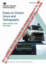 DVSA (VOSA) Driver's Hours & Tachograph Rules - Truck