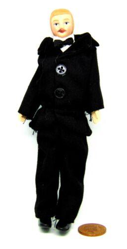 SCALA 1:12th vestiti uomo in Porcellana Casa delle Bambole Accessorio in miniatura
