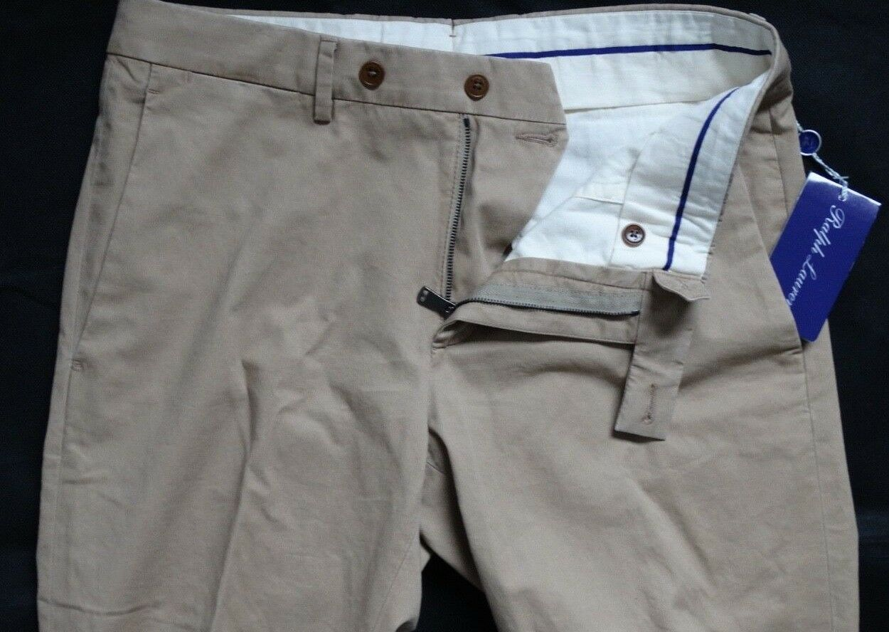 Ralph Lauren lila Label EATON FLAT PANT Gr 40  MADE IN ITALY